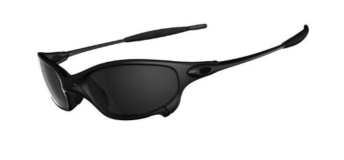 OAKLEY JULIET 04-149 CARBON/BLACK IRIDIUM POLARIZED SUNGLASSES