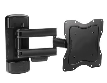 Ergotron Neo-Flex Cantilever, VHD - Mounting kit ( wall plate, cantilever arm ) for LCD / plasma panel ( Tilt  &  Swivel ) - black - screen size: up to 42