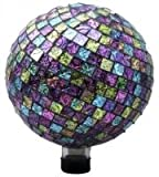 Very Cool Stuff Embossed Tile Globe, Pink/Purple/Green