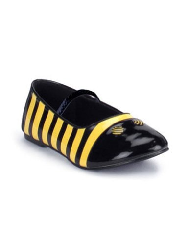 Kids-Costume-Accessory Shoes Bee Flat Child Sm Bk Yw Halloween Costume