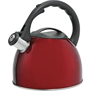 Translucent 2 Litre Stove Top Kettle - Red (886159300)