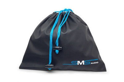 Sms Audio Street / Sync By 50 Cent Headphones Travel Bag Universal Headphone Drawstring Carrying Pouch (Sms-Drawbag-Blk)