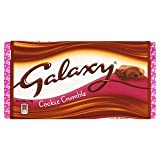 Galaxy Cookie Crumble Large Block 114g