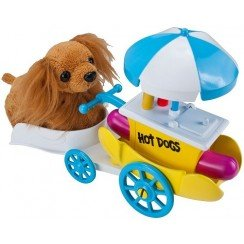 Zhu Zhu Puppies Hot Dog Cart Puppies Not Included!
