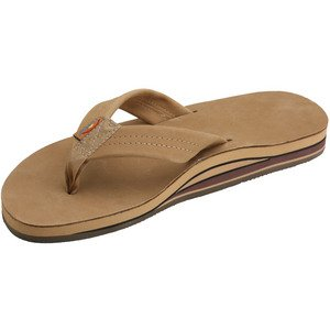 Double Layer Premier Leather Men's Sandal (Sierra) Size 9.5/10.5 (L) - 9.5/10.5 (L)