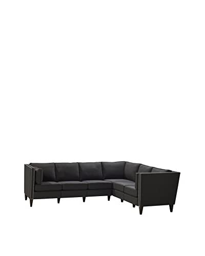 Homeware Drake 3 Corner 2 Sectional, Iron