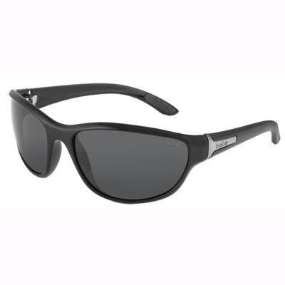 Bolle Mist Sunglasses - Shiny Black - Polarized TNS - 11181