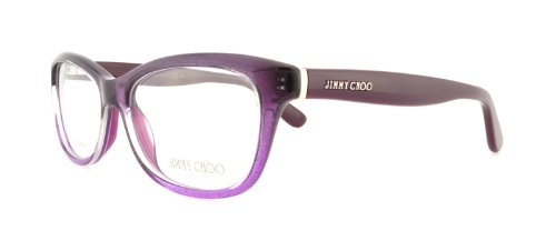 Jimmy Choo Jimmy Choo Eyeglasses JC 87 Violet Glitter 51-16-140