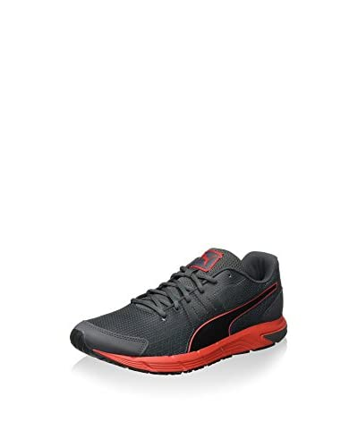 Puma Sneaker Sequence V2 schwarz/rot
