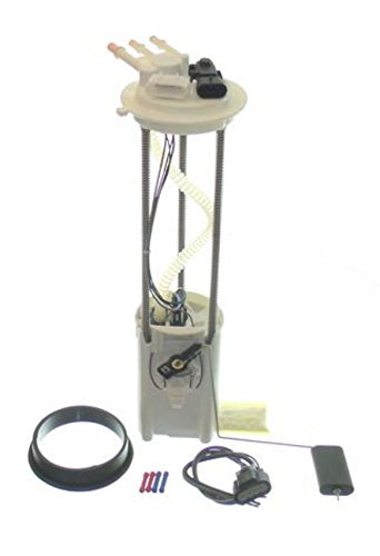 Electric Fuel Pump For 2002 Chevrolet Silverado 2500 Hd V8 6.0L With 2 Electrical Connectors On Top Of Module