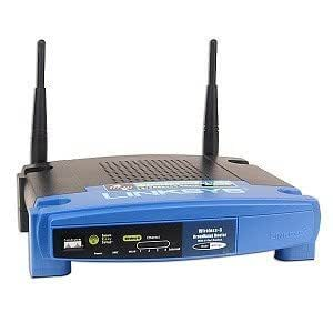 Linksys WRT54G Wireless-G 802.11g Broadband Router