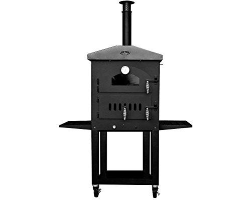Sunterra Outdoor Dual Fuel Pizza Oven With Standard Cart
