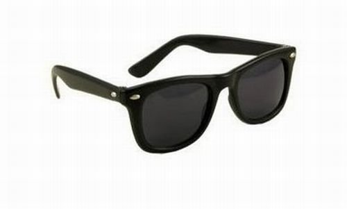 Blues Brothers Wayfarer Dark Black Sun Glasses
