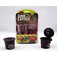 Clever Coffee Capsule Reuseable Single Coffee Filter 3pk Bouns Scoop