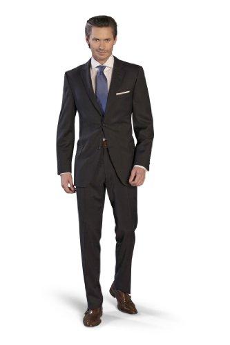 Men`s Suit Super120`s Marzotto dark blue 24 (38 Short)