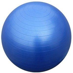 New Gym Exercise Fitness Ball 65cm (Anti-Burst) with Dual Action Hand Pump & Travel Sack