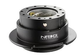NRG Steering Wheel Quick Release Kit - Black Gen 2.5 - Part # SRK-250BK