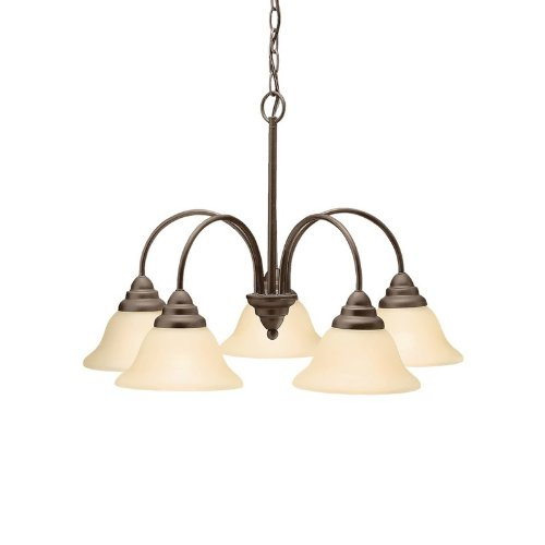 Simple Kichler Lighting OZ Light Telford Chandelier Olde Bronze