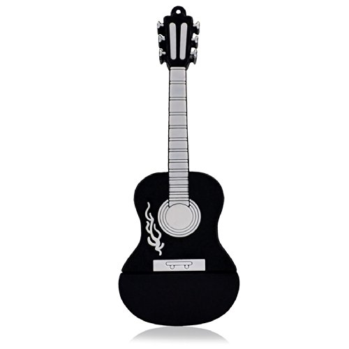 818-Shop-No1110006-Hi-Speed-USB-Sticks-248163264-GB-Instrument-Gitarre-Country-3D-schwarz