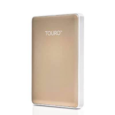 HGST Touro S 1TB Golden 7200 RPM with Free Pouch Bag worth Rs. 299.00