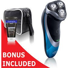 Philips Norelco At81/41 Powertouch With Aquatec Electric Razor With Bonus Neutrogena Cream & Travel Case