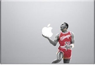 "Michael Jordan Vinyl Decal Skin for Apple Macbook Pro 13"" Air Laptop Computer"