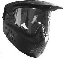 Gen X Global Stealth Mask Paintball Goggles – Black
