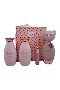 Katy Perry Meow for Women Gift Set (Eau de Parfum Spray 3.4 Ounce, Eau de Parfum Roll-On 0.33 Ounce,…