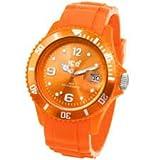 Ice Watch - Montre Unisex - Ice Watch - Si.Oe.Us.09 - Quartz Analogique - Cadran Orange - Bracelet Plastique