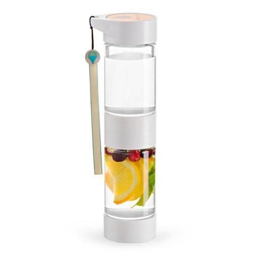 17 Oz Sport Fruit Infused Water Modern Design Bottle With Twist Top