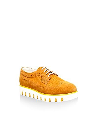 CAPRITO Zapatos de cordones RD345 Mostaza