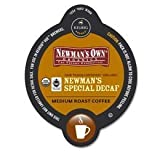 Newmans Own Organics Special Blend Decaf Coffee Keurig Vue Portion Pack, 32 Count