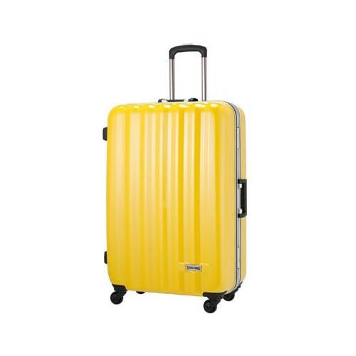 SPALDING|スーツケース|スポルディング 軽量ハードキャリー 【71cm】SP-0656-71イエローカーボン