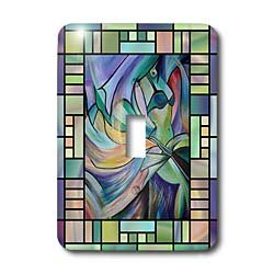 Taiche Acrylic Painting Women Art deco Dancer dance dancing belly dance bellydance oriental dance middle eastern dance Light Switch Covers single toggle switch