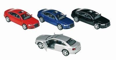 Audi A6, die-cast, 1:38