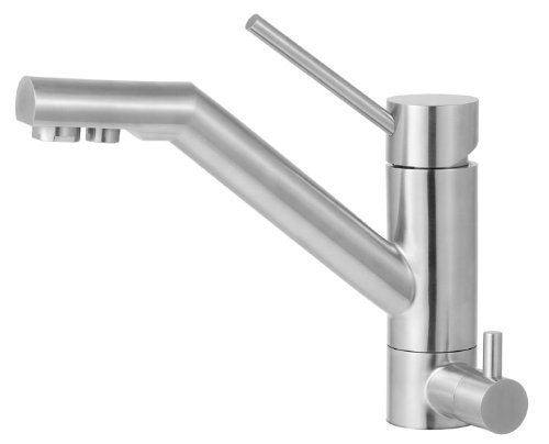 ALFI brand  AB2040 Solid Kitchen Faucet with Built in Water Dispenser, Stainless Steel
