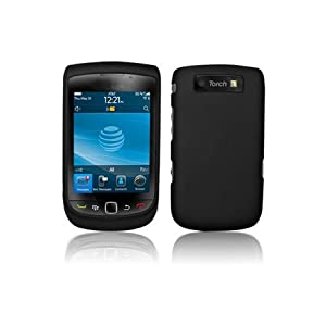 Hard Rubberised Case for Blackberry 9800