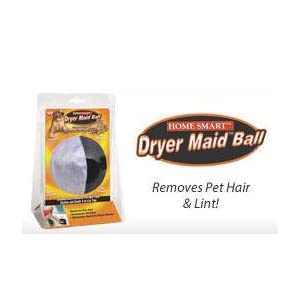 Home Smart Dryer Maid Ball - Automatically removes pet hair from clothes and sends it to the lint trap