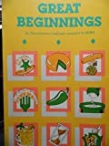 img - for Great Beginnings An Hors d'oeuvre Cookbook compiled by VAMS book / textbook / text book