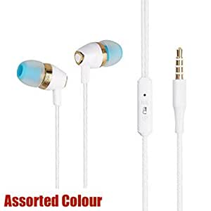 Captcha Stereo Earphones With High Treble And Bass Performance (With Mic)