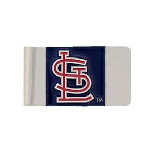 MLB St. Louis Cardinals Large Metal Money Clip
