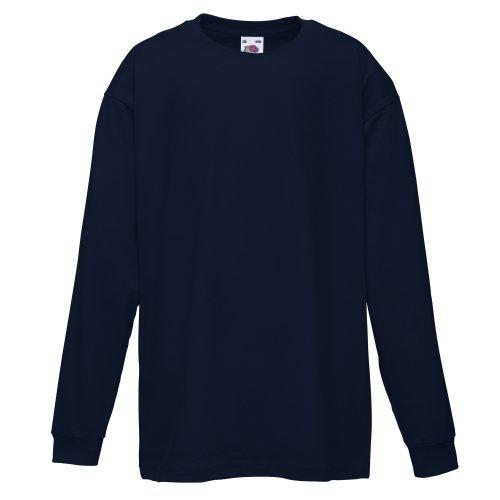 Fruit Of The Loom Childrens/Kids Big Boys Valuweight Long Sleeve T-Shirt