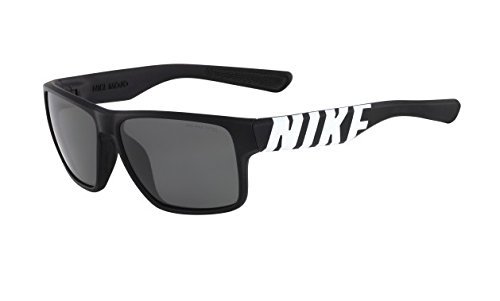 Nike Grey Lens Mojo Sunglasses, Matte Black/White