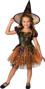 Elegant Witch Child Costume Size 2-4 Toddler