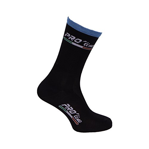 CALZINI CICLISMO PROLINE TEAM SKY CYCLING SOCKS 1 PAIO ONE SIZE NEW LINE