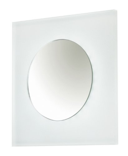 Applique Square Led 2,4 Watios 6000 k) di superficie in vetro extra...