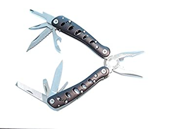 Multitool - Similar to name brand tools - Multipurpose Survival Tool - Folding Hand Tool - Spring Loaded by Tools of Life