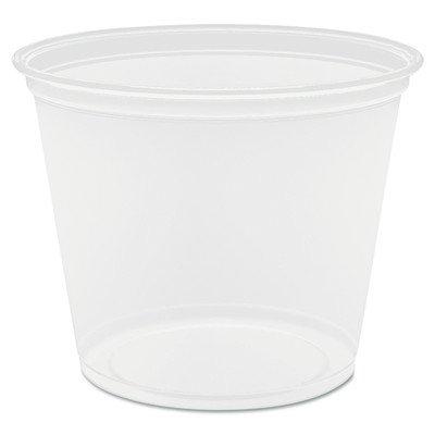 Conex Complement Portion Cups, 5 1/2 Oz., Translucent, 125/B