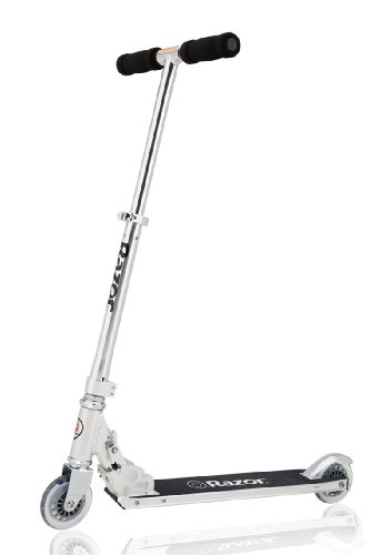 Razor A4 Kick Scooter, Clear