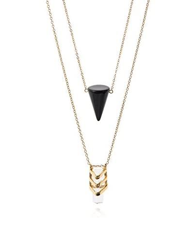 Jules Smith Large Spike Long Layer Necklace (Yg)